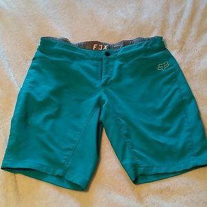 Women's Fox Ripley MTB shorts. Medium